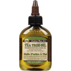 Huile D'arbre A The' Tea Tree Hair Oil  2.5 oz